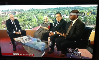 BBC coverage of the death of Nelson Mandela